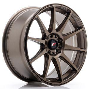 JR-Wheels JR11 Felgen 18 Zoll 8.5J ET40 5x112,5x114.3 Dunkel Matt Bronze-57728-2