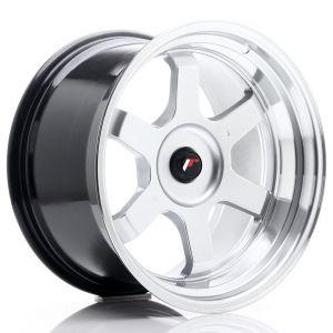 JR-Wheels JR12 Felgen 18 Zoll 10J ET20-22 Custom PCD Hyper Silber-55700-26