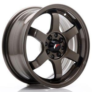 JR-Wheels JR3 Felgen 15 Zoll 7J ET40 4x100,4x114.3 Bronze-47159-1