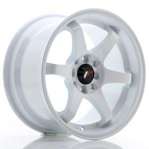 JR-Wheels JR3 Felgen 15 Zoll 8J ET25 4x100,4x114.3 White-47160-23