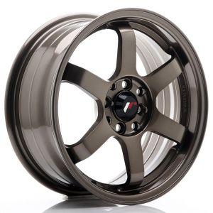 JR-Wheels JR3 Felgen 16 Zoll 7J ET40 4x100,4x114.3 Bronze-47159-2