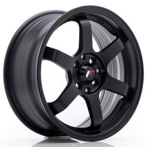JR-Wheels JR3 Felgen 16 Zoll 7J ET25 4x100,4x108 Matt Schwarz-47156-27