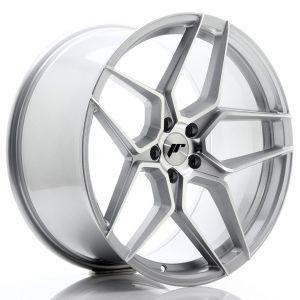 JR-Wheels JR34 Felgen 20 Zoll 10J ET40 5x120 Silber Machined-67500