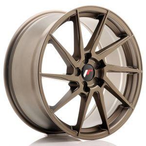JR-Wheels JR36 Felgen 19 Zoll 8.5J ET20-50 Custom PCD Flat Bronze-67354