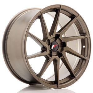 JR-Wheels JR36 Felgen 19 Zoll 9.5J ET20-45 Custom PCD Flat Bronze-67365