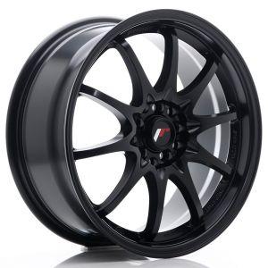JR-Wheels JR5 Felgen 17 Zoll 7.5J ET35 4x100,4x114.3 Matt Schwarz-60952