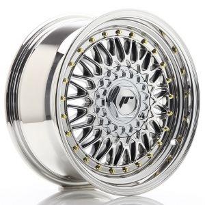 JR-Wheels JR9 Felgen 16 Zoll 7.5J ET25 4x100,4x108 Chrome-62645