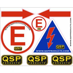 QSP Aufkleber-Set-80223