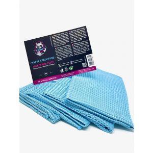 Racoon Wafer Microfibre Cloth Blau Microfaser-77452