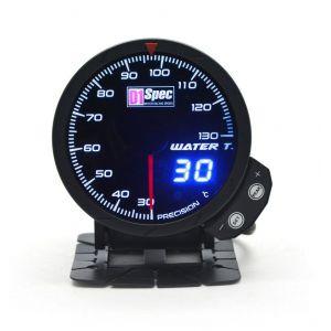 D1 Spec Anzeige Version 3 Schwarz 60mm Wassertemperatur-62402
