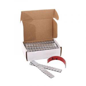JR-Wheels Felgen Wuchtgewichte 3M Tape Silber Aluminium-67522